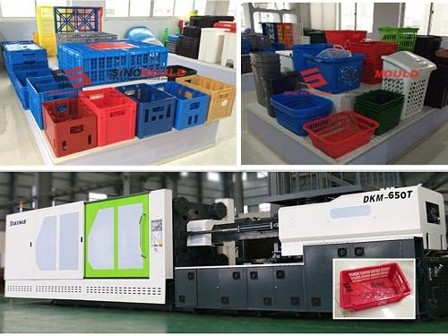 sản xuất thùng nhựa